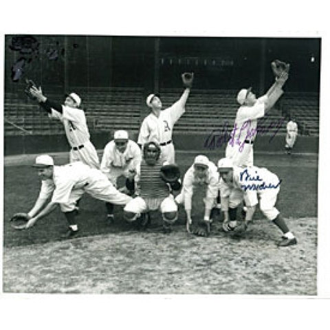Robert Johnson & BIll Wendor Autographed / Signed Black & White 8x10 Photo