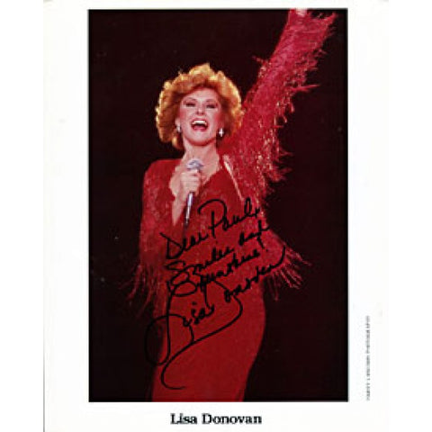Lisa Donovan Autographed / Signed 8x10 Photo