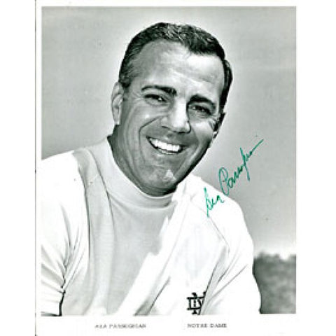 Ara Parseghian Autographed / Signed 8x10 Photo (James Spence)