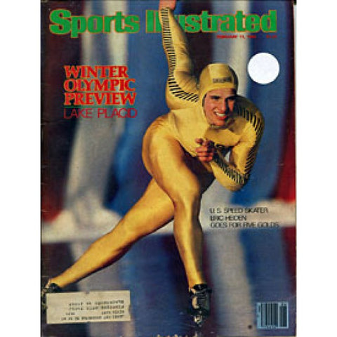 Eric Heiden Unsigned 1980 Sports Illustrated