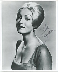 Julie Newmar Autographed / Signed 8x10 Photo