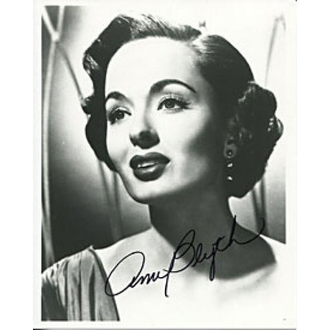 Ann Blyth Autographed/Signed 8x10 Photo