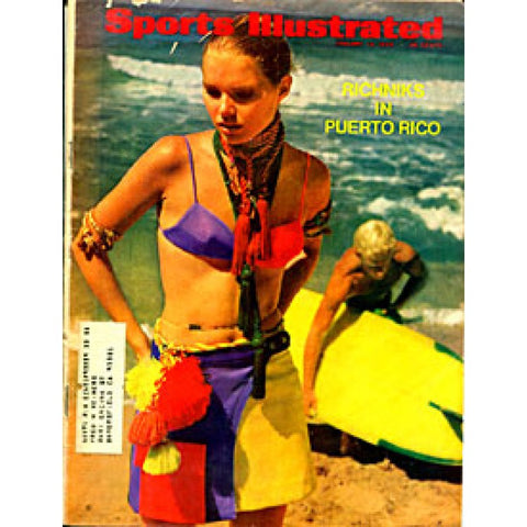 Jamee Becker Unsigned Sports Illustrated Magazine - January 13 1969