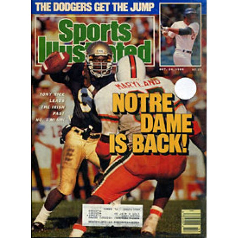Tony Rice 1988 Sports Illustrated