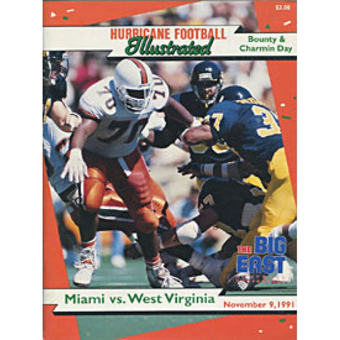 1991 Hurricane Illustrated Program