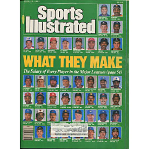 What They Make 1987 Sports Illustrated