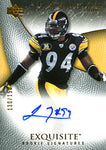 Lawrence Timmons Autographed / Signed 2007 Upper Deck Exquisite Card