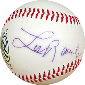Lou Rauls Autographed / Signed Official League Baseball