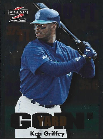 Ken Griffey Jr. 1997 Pinnacle Card