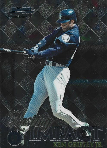 Ken Griffey Jr. 1999 Bowman Chrome Card