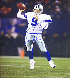 Tony Romo Autographed 16x20 Photo