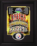 2008 Pittsburgh Steelers Framed Super Bowl XLIII Champions Collage 8x10 Photo