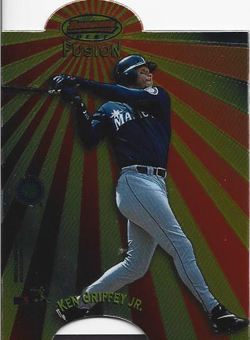 Ken Griffey Jr. 1998 Bowman's Best Card