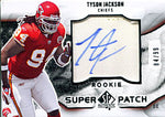 Tyson Jackson Autographed / Signed 2009 Upper Deck SP Jersey Card