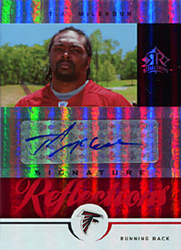 T. A. McLendon Signed 2005 UpperDeck Reflections Rookie Card