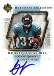 Greg Jones Factory Signed 2004 Upper Deck ROOKIE Signatures Card