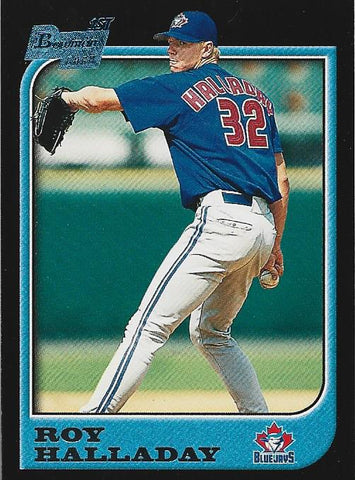 Roy Halladay 1997 1st Bowman Card
