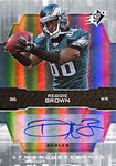 Reggie Brown Autographed / Signed 2007 UpperDeck Philadelphia Eagles Football Card