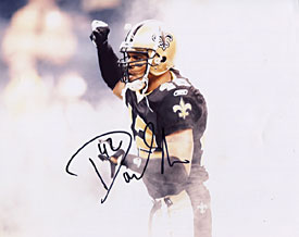 Darren Sharper Autographed / Signed New Orleans Saints Football 8x10 Photo