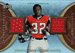 Jerious Norwood 2007 Upper Deck Artifacts Event-Worn Material Card