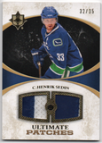 Henrik Sedin 2010-11 Upper Deck Ultimate Collection Jersey Card