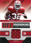 Kendall Hunter Unsigned 2011 Absolute Memorabilia Rookie Jersey Card