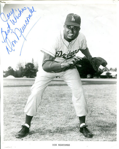 Don Newcombe Autographed 8x10 Photo