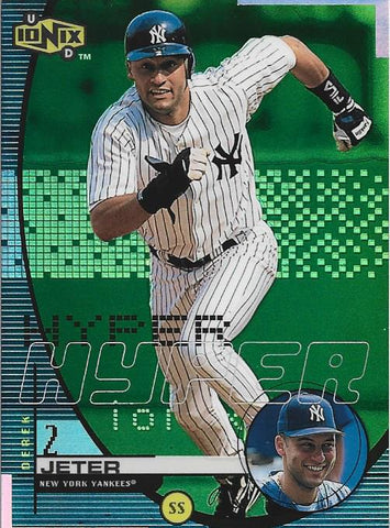 Derek Jeter Upper Deck Card