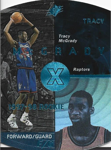 Tracy McGrady 1998 SP Rookie Card