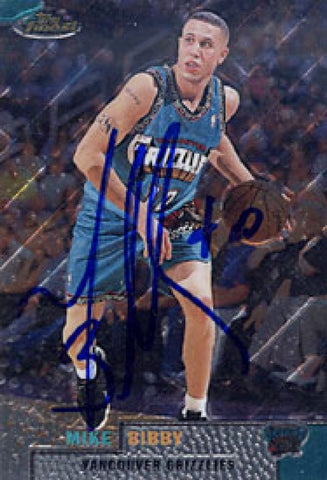Mike Bibby Autographed / Signed 1999 Topps No.35 Basketball Card