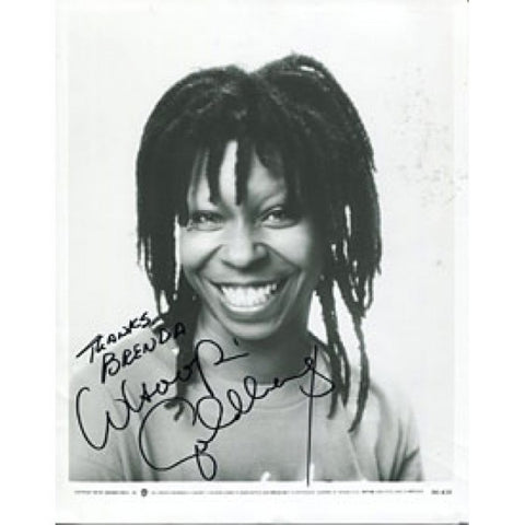 Whoopi Goldberg Autographed/Signed 8x10 Photo