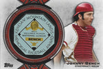 Johnny Bench 2013 Topps Commemorative MVP Trophy Card