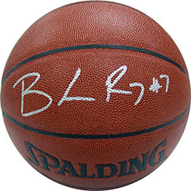 Brandon Roy Autographed / Signed Portland Trail Blazers Indoor / Outdoor Basketball