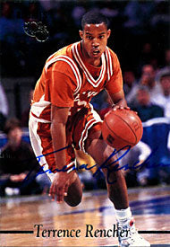 Terrence Rencher Autographed / Signed 1995 Classic Basketball Card
