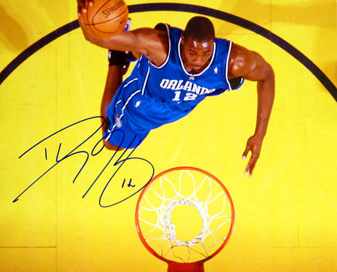 Dwight Howard Autographed / Signed Orlando Magic Aerial Dunk 16x20 Photo (JSA)