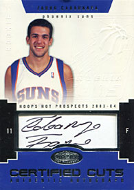 Zarko Cabarkapa Signed 2003 Fleer Rookie Card