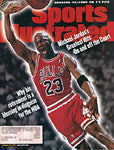 Michael Jordan Unsigned Sports Illustrated 1998