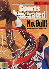 Bill Cartwright Autographed / Signed Sports Illustrated - May 31 1993