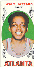 Walt Hazzard Topps 1969-70 Basketball Rookie Card