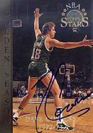 Dave Cowens Autographed / Signed 1996 Topps No.61 Basketball Card