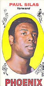 Paul Silas Topps 1969-70 Basketball Rookie Card