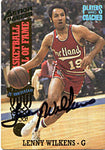 Lenny Wilkens Autographed / Signed 1993 Action Packed Card