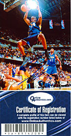 Shaquille O'Neal Autographed / Signed Lakers Dunk vs Pacers 8x10 Photo (OAI)