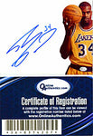 Shaquille O'Neal Autographed / Signed Lakers Cut Off 8x10 Photo (OAI)