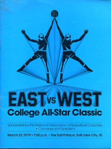 1979 East Vs. West College All-Star Classic Program
