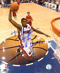 Dorell Wright Autographed/Signed 16x20 Photo WORLD CHAMPS