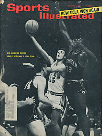 Gail Goodrich Unsigned Sports Illustrated- Mar 29 1965