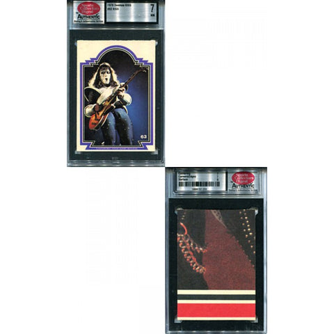 KISS 1978 Donruss #63 SCD Graded 7 Card
