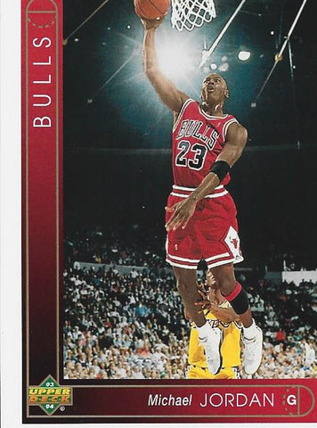 Michael Jordan 1993 Upper Deck Card