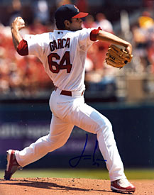 Jaime Garcia Autographed / Signed Pitching 8x10 Photo